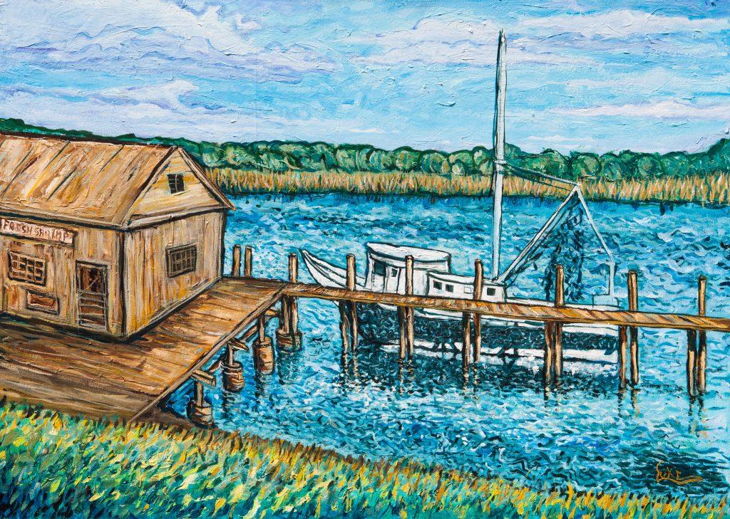Thunderbolt Shrimp Dock
