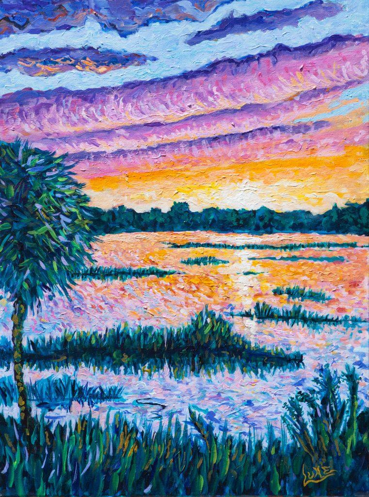 Wylly Island Sunset